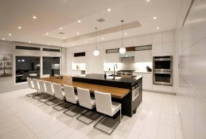 contemporary kitchen and bathroom trends