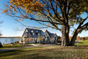 Scugog Township custom home by Steve Snider Construction