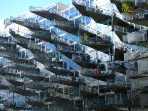 VM Houses student housing, Tietgenkollegeit, Copenhagen
