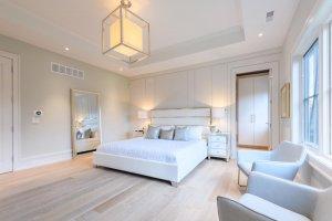 High ceilings in luxury estate home