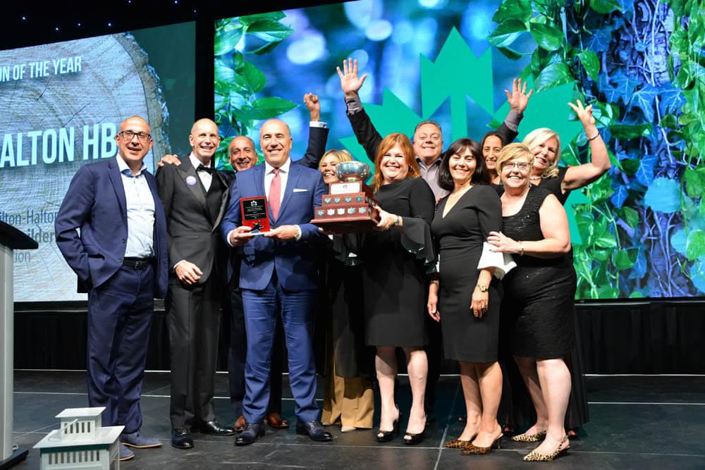 2019 Association of the Year Award went to Hamilton-Halton Home Builders' Association
